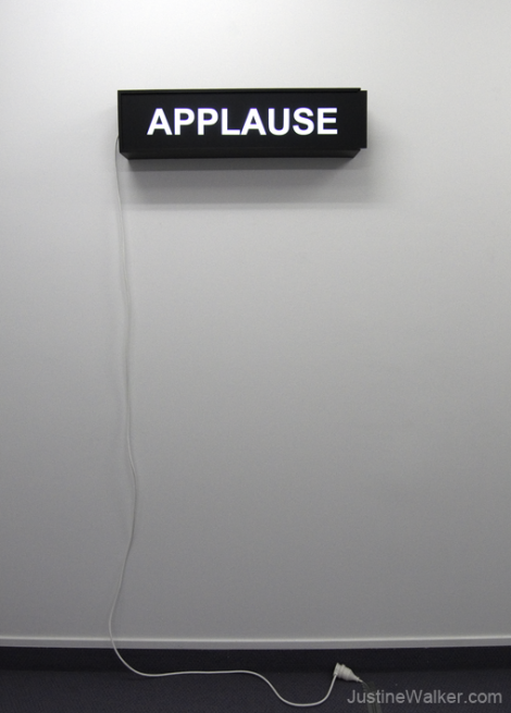 Untitled (APPLAUSE), Multimedia, 740x180x120mm, 2008